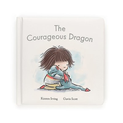 Jellycat - Story Book Jellycat - The Courageous Dragon - Book