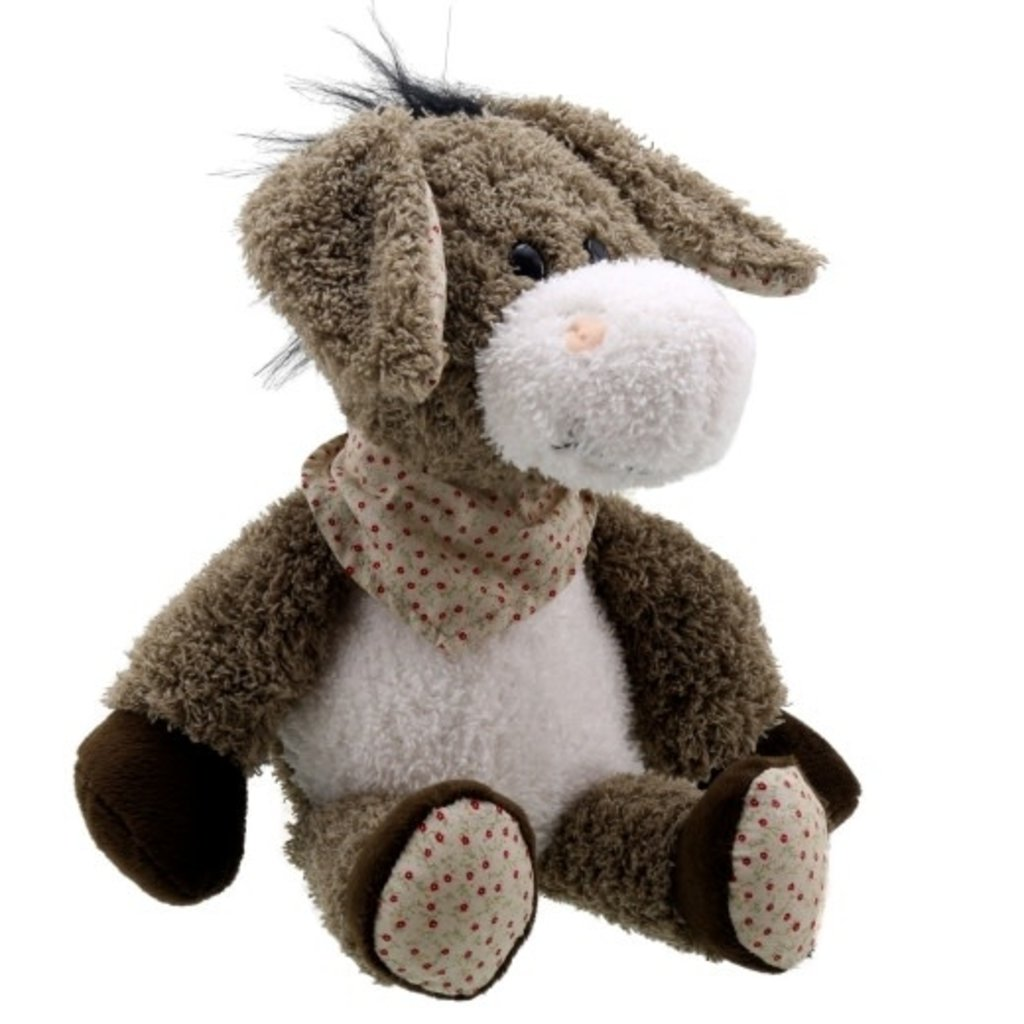 Wilberry - Snuggles Wilberry - Donkey with Scarf
