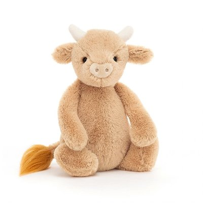 Jellycat - Bashful Jellycat - Bashful Cow - Small