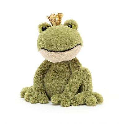 Jellycat - Dressed to Impress Jellycat - Felipe Frog Prince - Small
