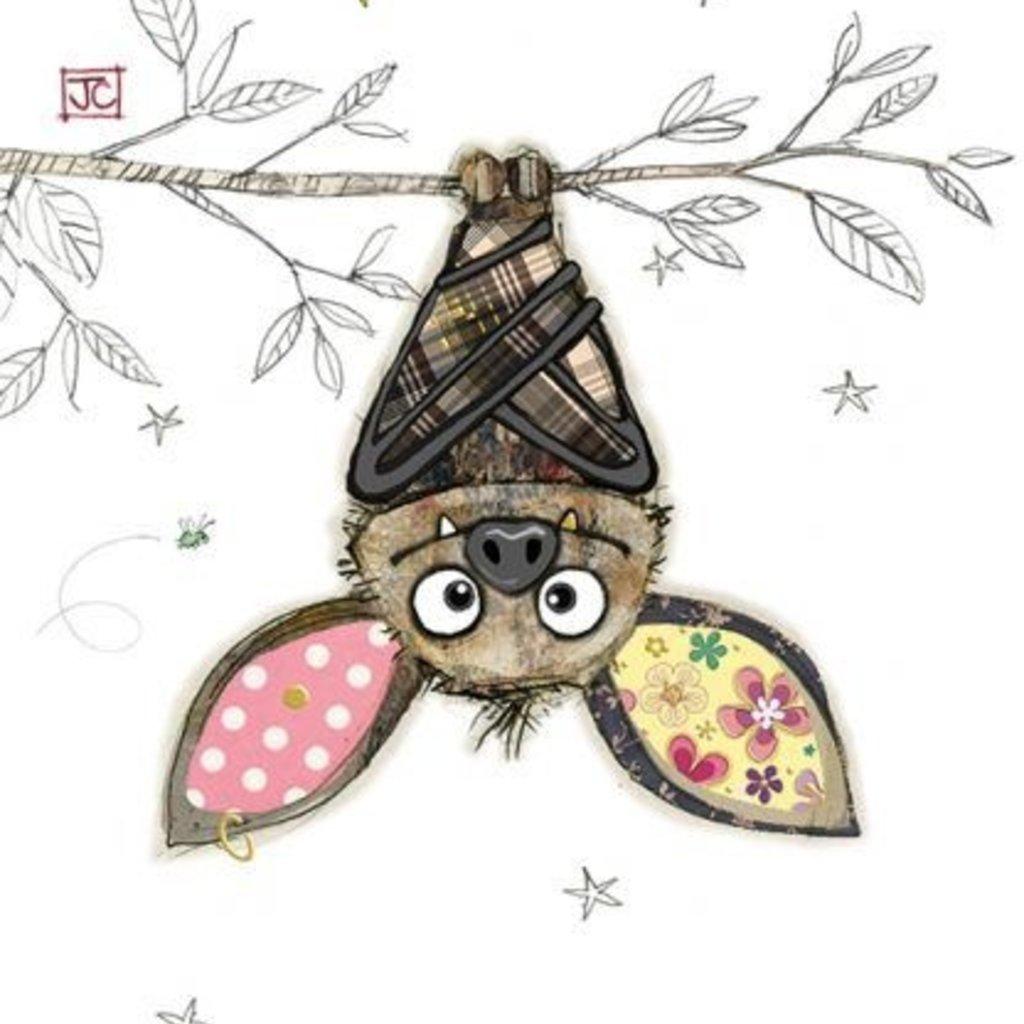 Bug Art Kooky Card - Boris Bat