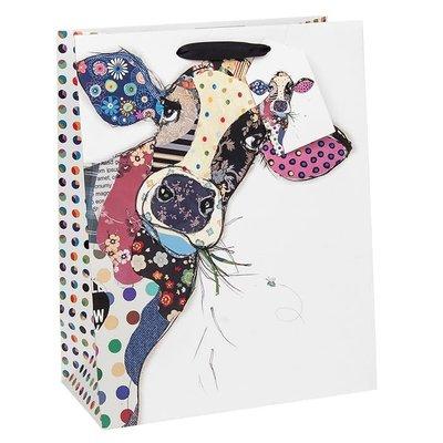 Bug Art Bug Art Kooks Connie Cow - Gift Bag - Medium