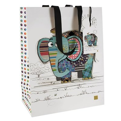 Bug Art Bug Art Kooks Eric Elephant - Gift Bag - Medium