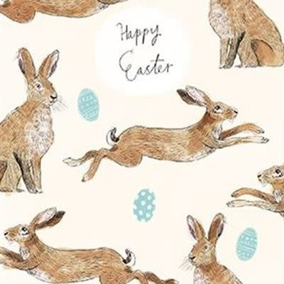 Paper House Spring Greeting Card - Easter
