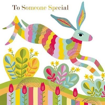 Almanac Art Easter Greeting Card - To Someone Special