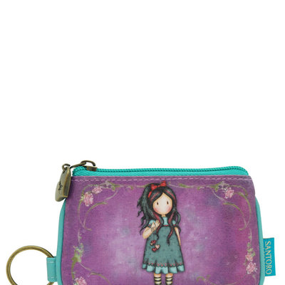 Gorjuss Gorjuss - Keyring Zip Purse - Pulling On Your Heart Strings