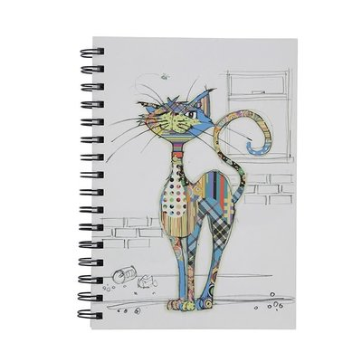Bug Art Kooks Cola Cat A6 Notebook
