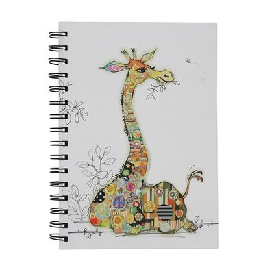 Bug Art Kooks Gerry Giraffe A6 Notebook