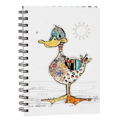 Bug Art Kooks Dotty Duck A5 Notebook