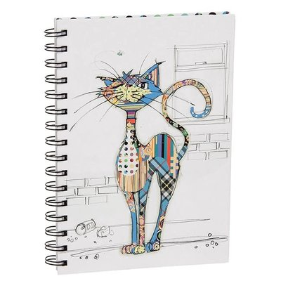 Bug Art Kooks Cola Cat A5 Notebook
