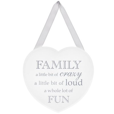 Lesser & Pavey Shabby Chic Family Plaque