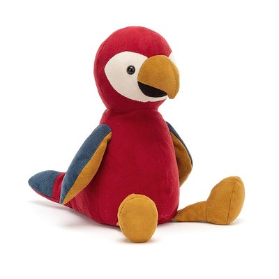 Jellycat - Colourful & Quirky Jellycat - Belby Parrot