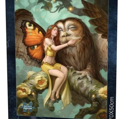 Nemesis Now Fairy & Owl Jigsaw Puzzle - 1000pcs