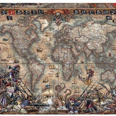 Educa 2000pcs - Pirates Map Puzzle