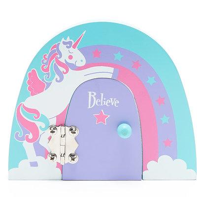 Believe You Can Unicorn Fairy Door