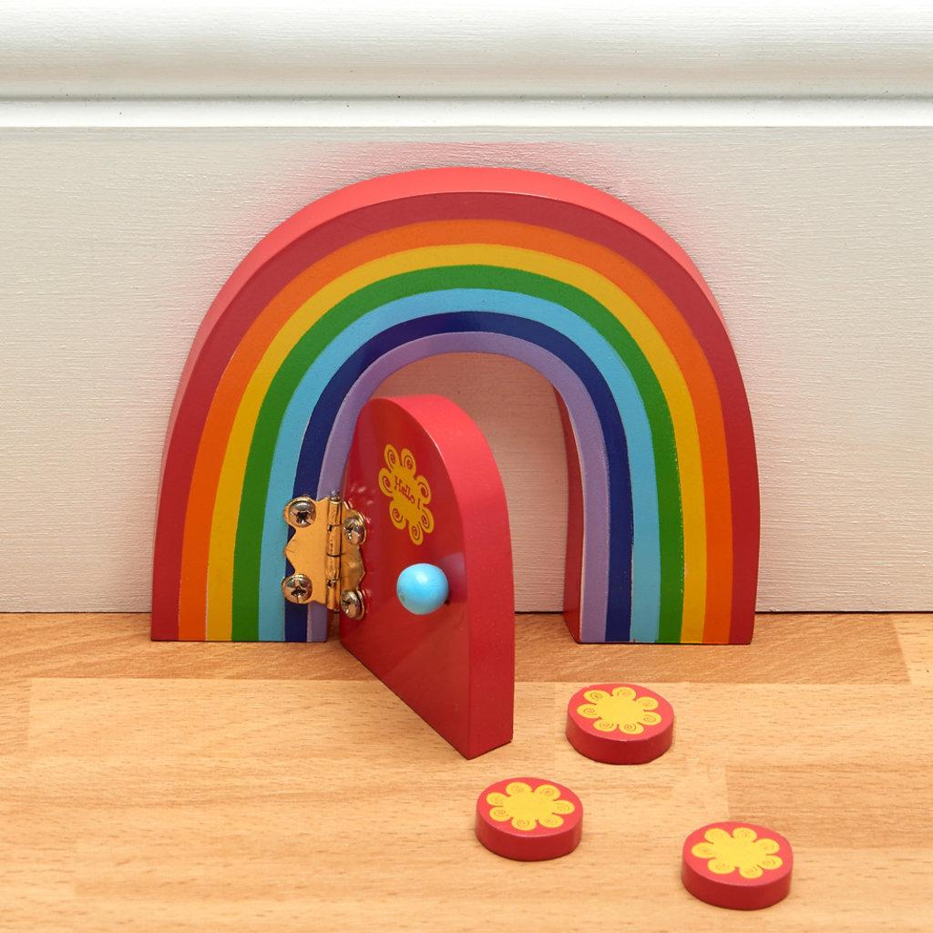 Believe You Can Rainbow Fairy Door