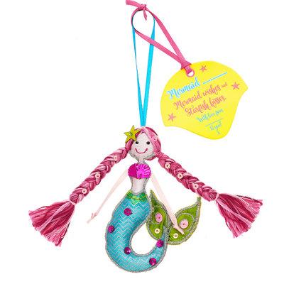 Believe You Can Mermaid .... (Personalise) Fuchsia Pink Hair
