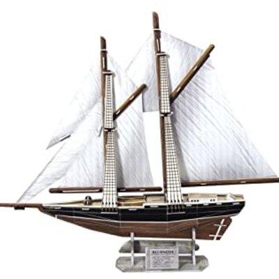 3D Puzzle Buildream - Bluenose Ship