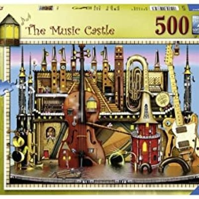 Ravensburger Music Castle Puzzle 500pcs