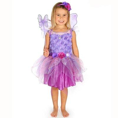 Amethyst Fairy Costume - Age 3/4 Years