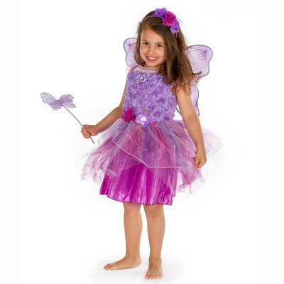 Amethyst Fairy Costume - Age 5/6 Years