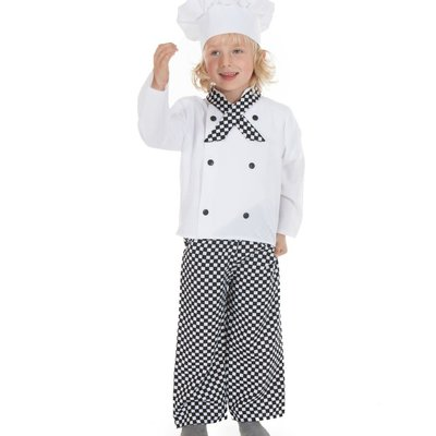 Chef Costume - Age 3/5 years