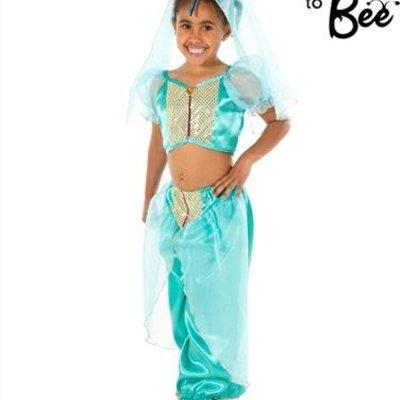 Arabian Princess Costume - Age 3/5 years