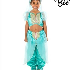 Arabian Princess Costume - Age 3/5 years