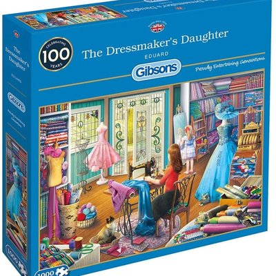 Gibsons The Dressmaker's Daughter Puzzle - 1000pcs