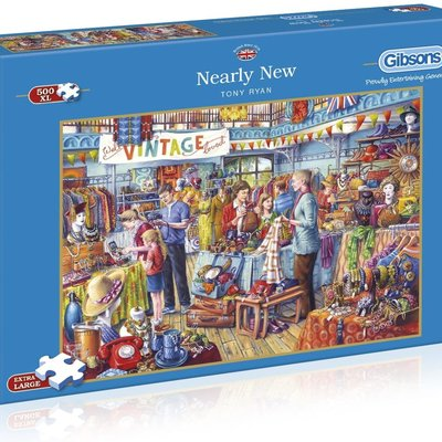 Gibsons Nearly New Puzzle - 500XL pcs
