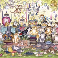 Gibsons Mad Catter's Tea Party Puzzle - 250XL pcs