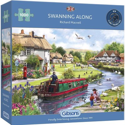 Gibsons Swanning Along Puzzle - 1000pcs
