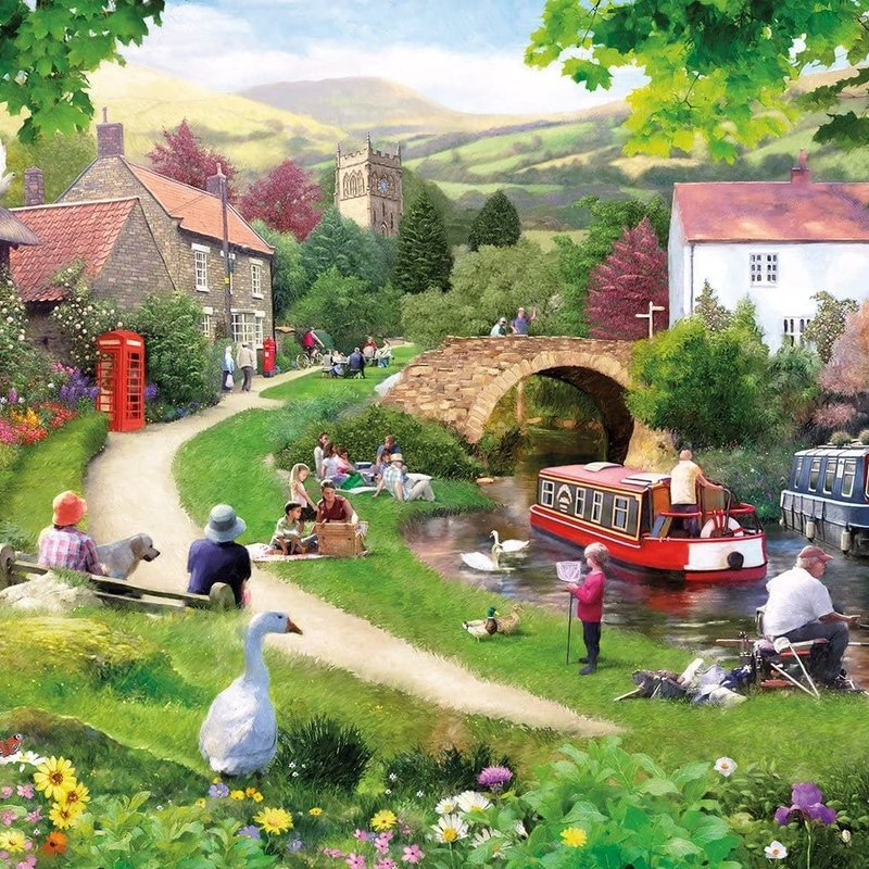 Gibsons Life in the Slow Lane Puzzle - 1000pcs