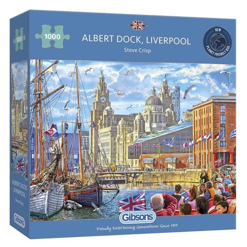 Gibsons Albert Dock, Liverpool Puzzle - 1000pcs