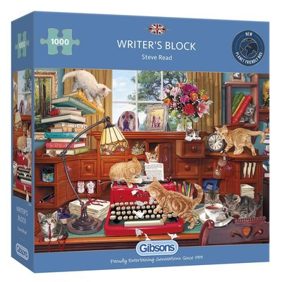 Gibsons Writer's Block Puzzle - 1000pcs