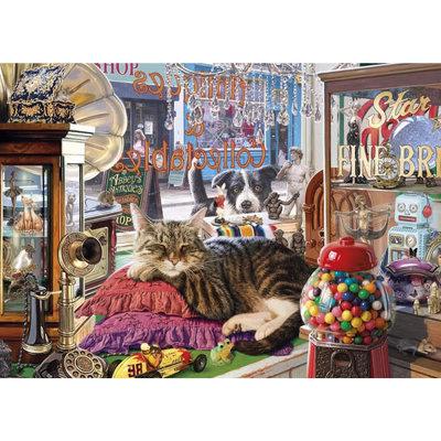 Gibsons Abbey's Antique Shop Puzzle - 1000pcs
