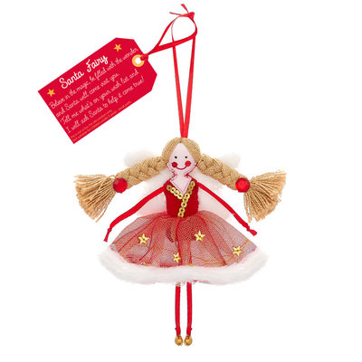 Believe You Can Santa Fairy