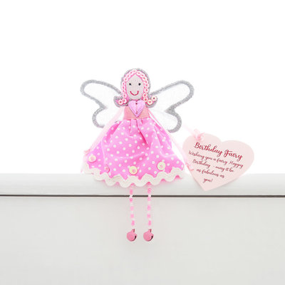 Believe You Can Birthday Fairy Shelf Sitter Fairy