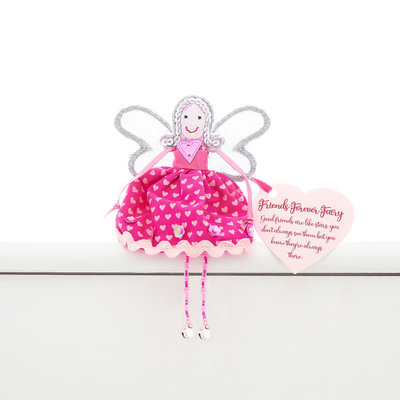 Believe You Can Friends Forever Fairy Shelf Sitter Fairy
