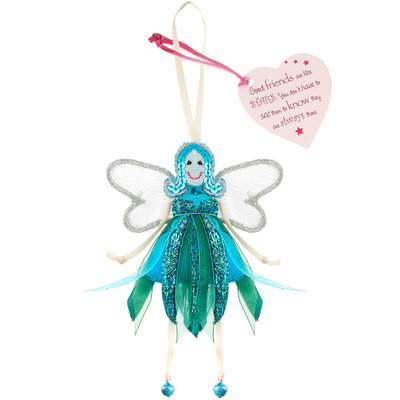 Believe You Can Good Friends are like Stars - Glitter Quote Fairy
