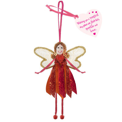 Believe You Can Wishing you a Magical Day - Glitter Quote Fairy