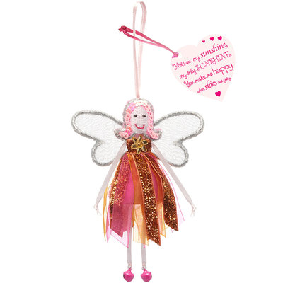 Believe You Can You are my Sunshine - Glitter Quote Fairy