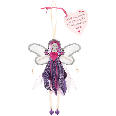 Believe You Can Live, Laugh & Love - Glitter Quote Fairy