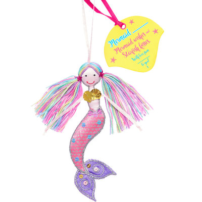Believe You Can Mermaid .... (Personalise) Multi Coloured Hair