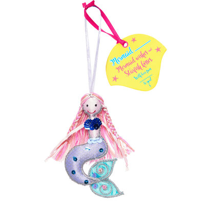 Believe You Can Mermaid .... (Personalise) Light Pink Hair