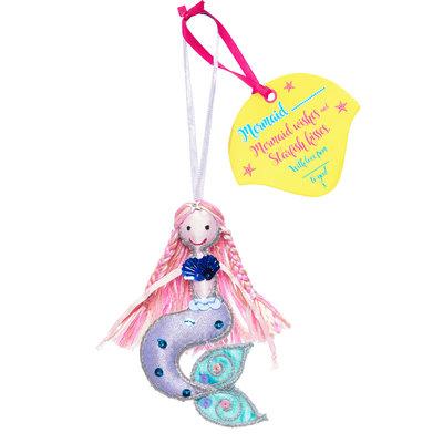 Believe You Can Mermaid .... (Personalise) Light Pink Hair