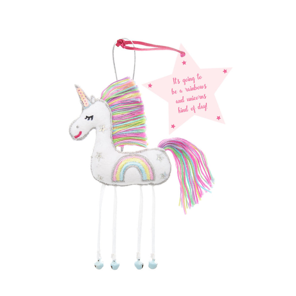 Believe You Can White Unicorn - It's Going To Be a Rainbows & Unicorn ....