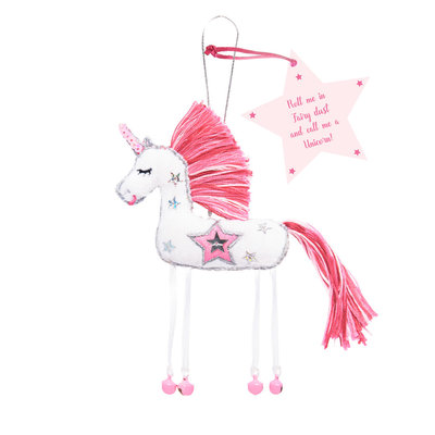 Believe You Can White Unicorn - Roll Me in Fairy Dust  ....