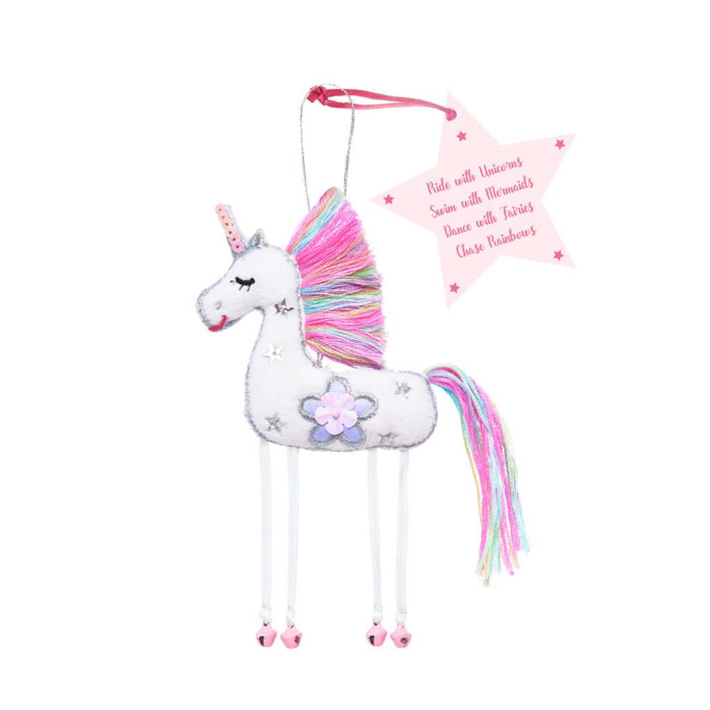 Believe You Can White Unicorn - Ride with the Unicorns...