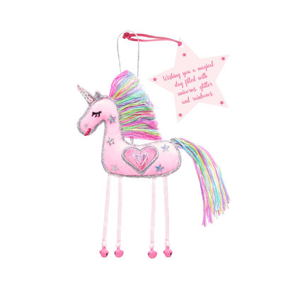 Believe You Can Pink Unicorn - Wishing you a Magical Day